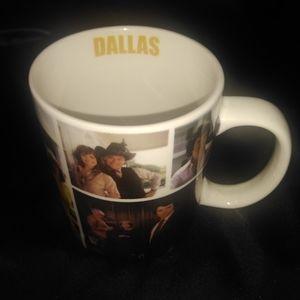 Dallas the famous TV series coffee mug (Rare